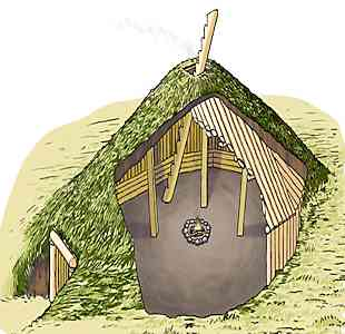 Pit Houses Are Kinda Pithy on native american house project, native american indian projects, native american plank house plans, native american long house plans,