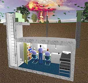 Underground Bunkers For Man Made Or Natural Disasters