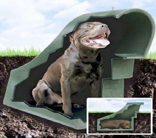 Shelf diy diy underground dog house - Underground dog houses ...
