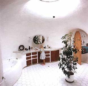 Underground dome homes design architecture houses - The subterranean house fighting small spaces ...
