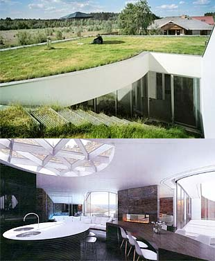 Advantages of underground earth sheltered homes top 20 for Modern underground home designs